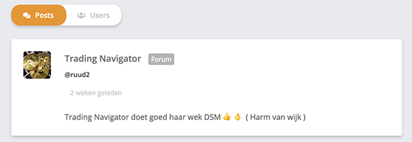 Forum Beleggen.com screenshot